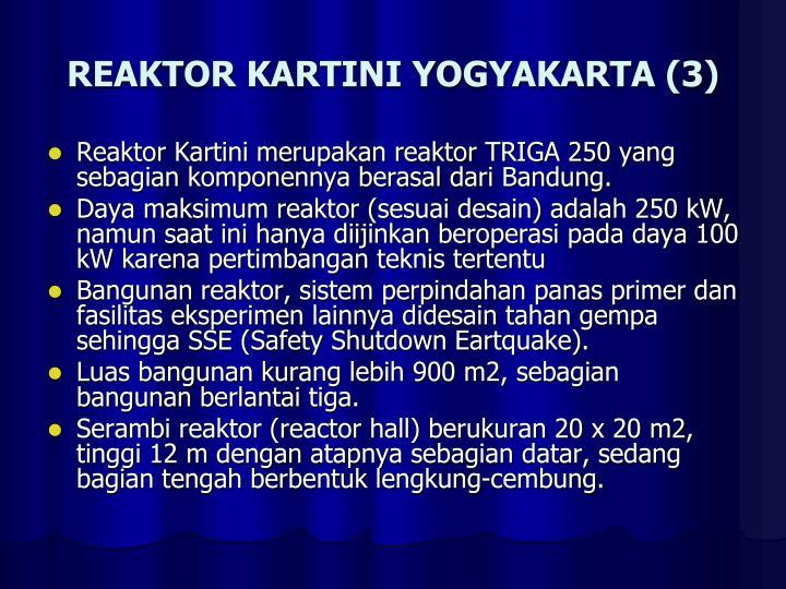 REAKTOR KARTINI YOGYAKARTA (3)