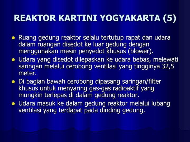 REAKTOR KARTINI YOGYAKARTA (5)