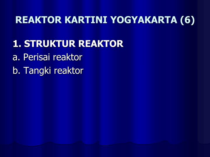 REAKTOR KARTINI YOGYAKARTA (6)