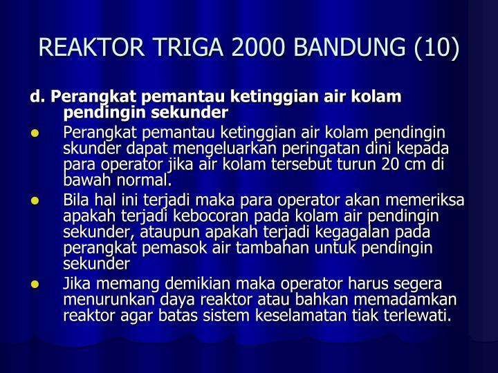 REAKTOR TRIGA 2000 BANDUNG (10)