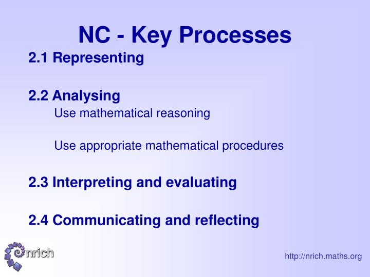 NC - Key Processes