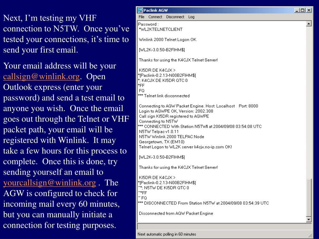 PPT - Winlink 2000 PowerPoint Presentation - ID:4601917