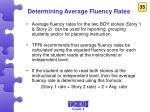determining average fluency rates2