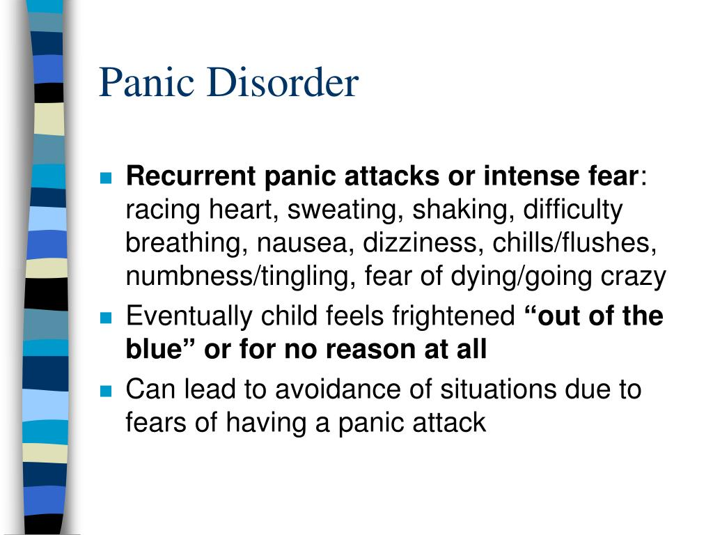 PPT - Anxiety Disorders in Children and Adolescents