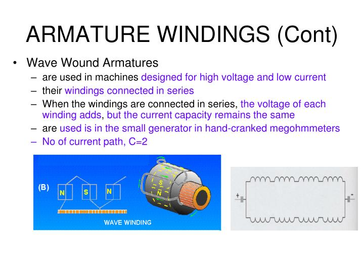 armature winding design