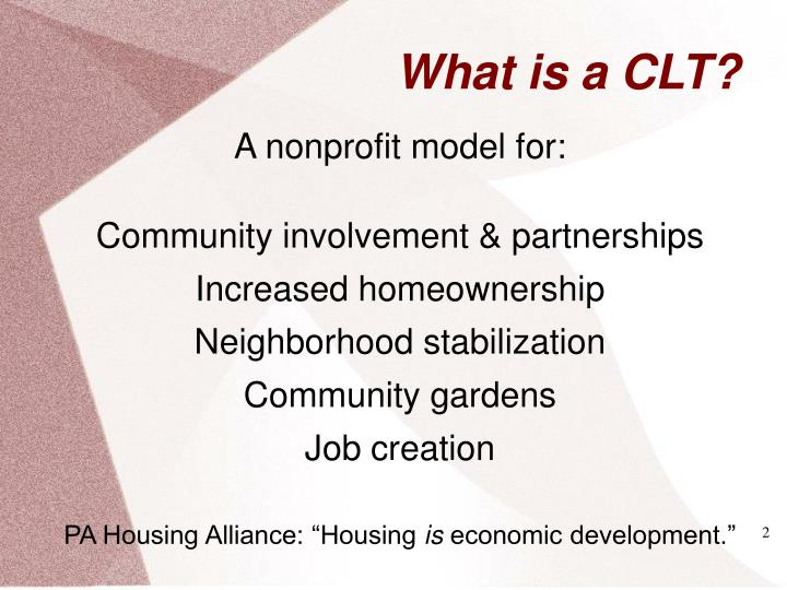What is a clt