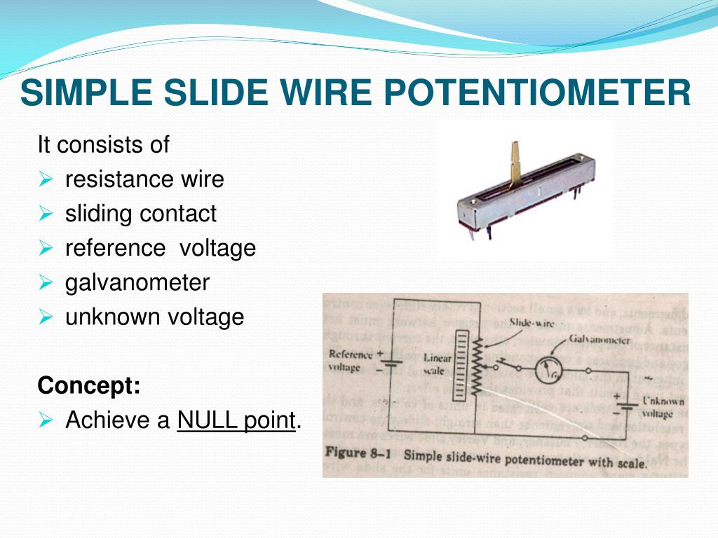 Ppt Potentiometer Powerpoint Presentation Free Download