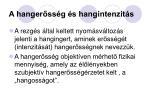 a hanger ss g s hangintenzit s