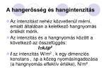 a hanger ss g s hangintenzit s3