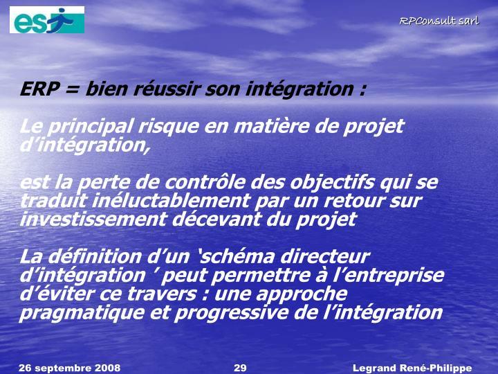 ERP = bien réussir son intégration :