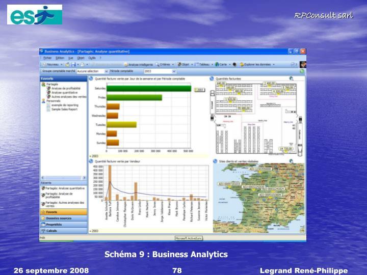 Schéma 9 : Business Analytics