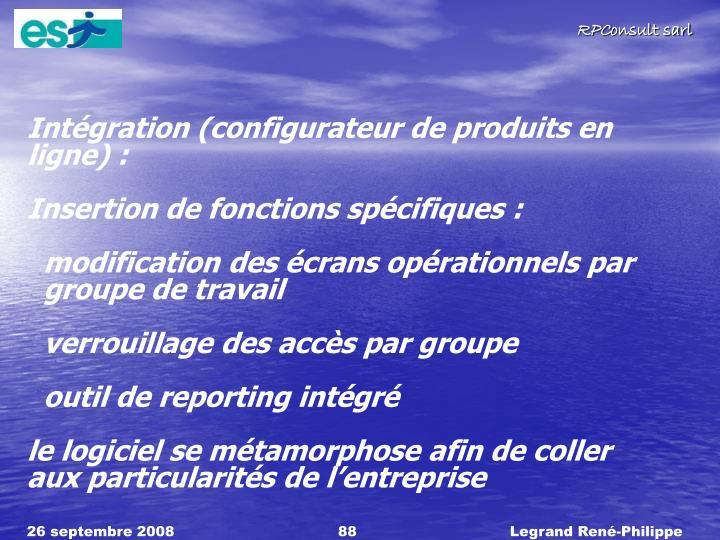 Intégration (