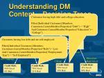 understanding dm content decision trees