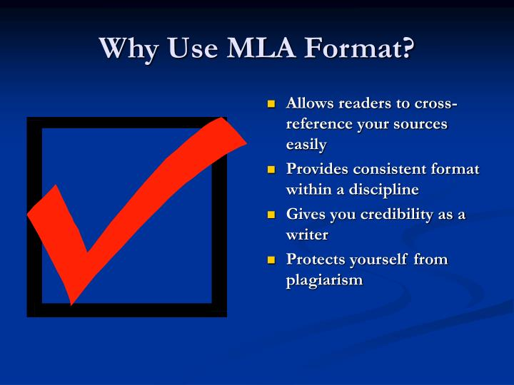cite a powerpoint mla