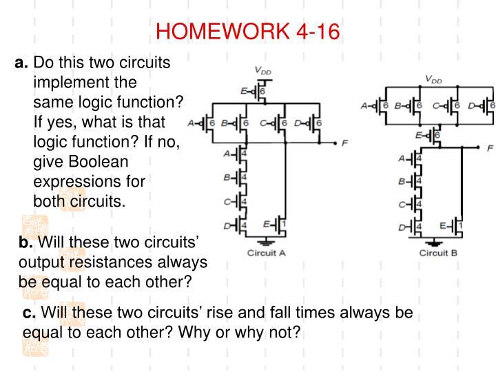 HOMEWORK 4-16