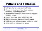 pitfalls and fallacies