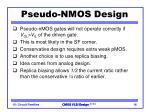 pseudo nmos design2