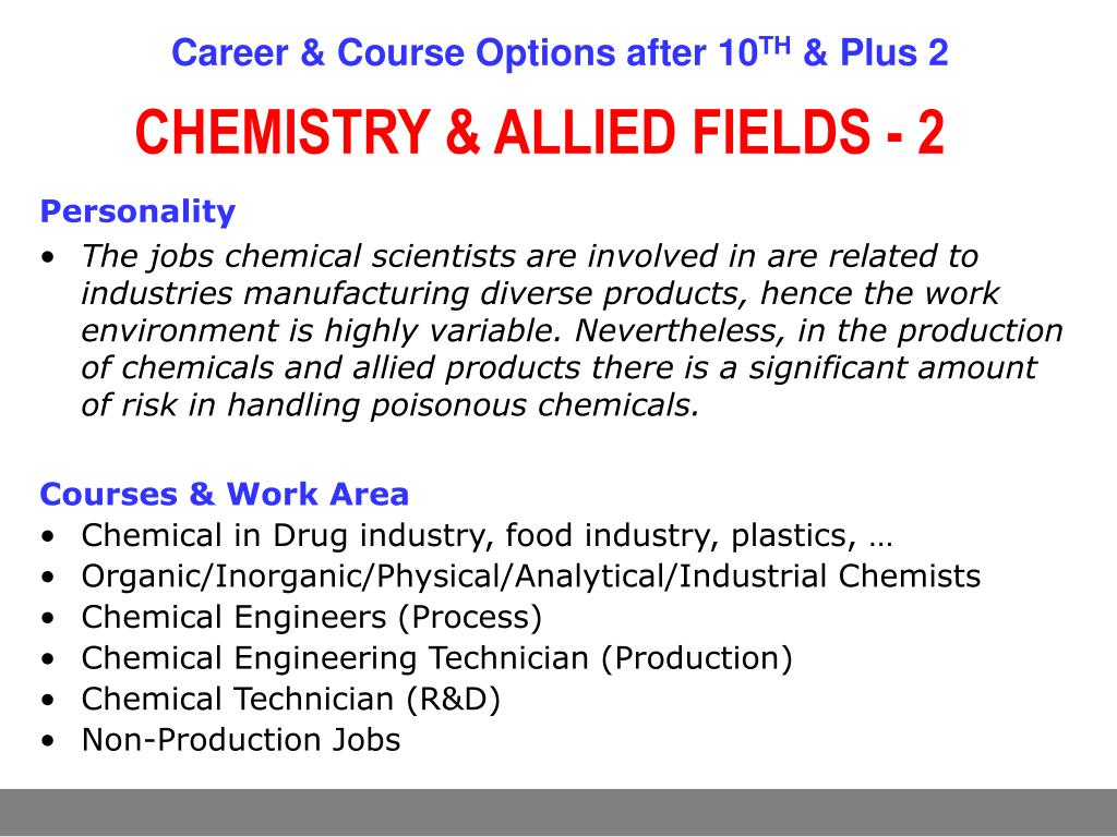 PPT - Career & Course Options after X & XII PowerPoint Presentation