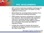 ifrs developments