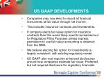 us gaap developments
