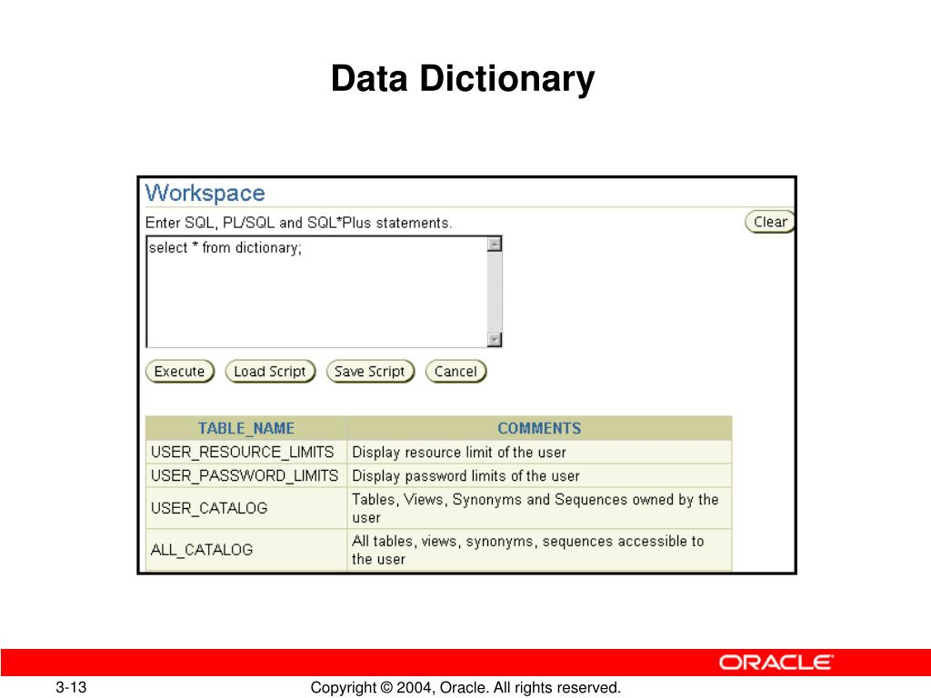 PPT - Creating an Oracle Database PowerPoint Presentation
