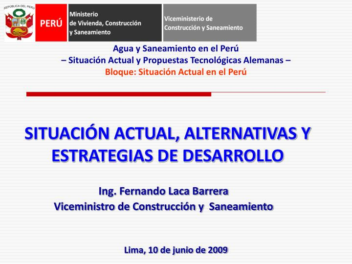 Situaci n actual alternativas y estrategias de desarrollo