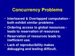 concurrency problems