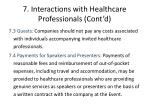 7 interactions with healthcare professionals cont d3