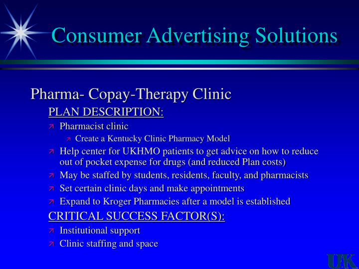 Consumer Advertising Solutions