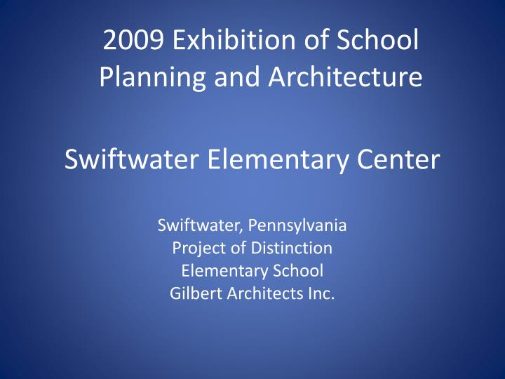 swiftwater elementary center n.