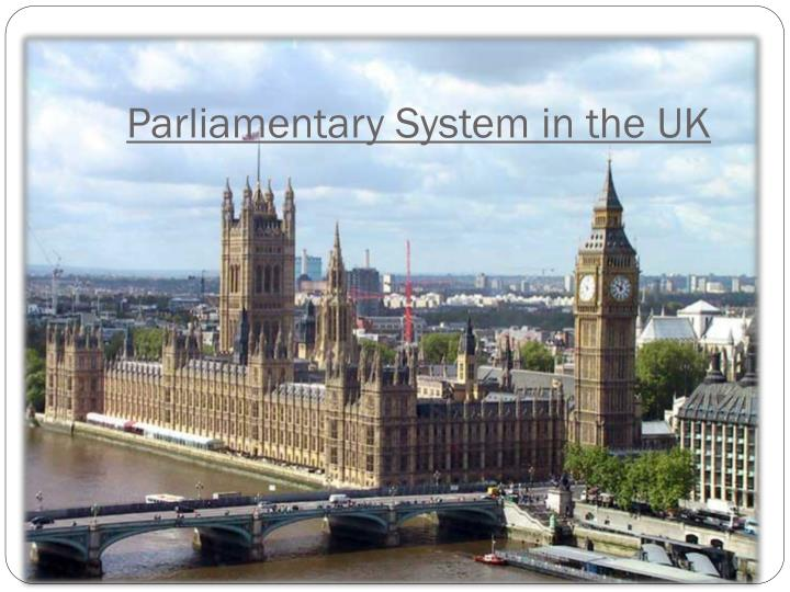 parliamentary system in the uk n.
