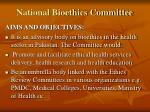 national bioethics committee1