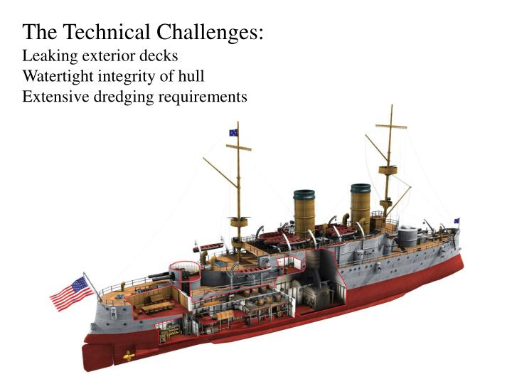 The Technical Challenges: