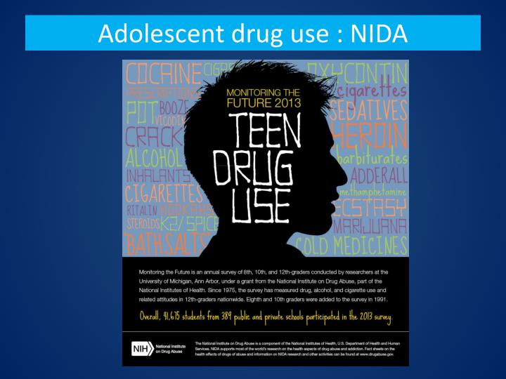 adolescent and drug use