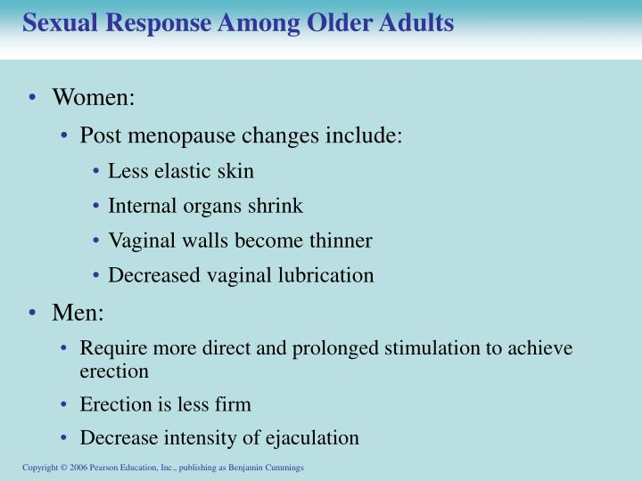 Sexual Response Among Older Adults