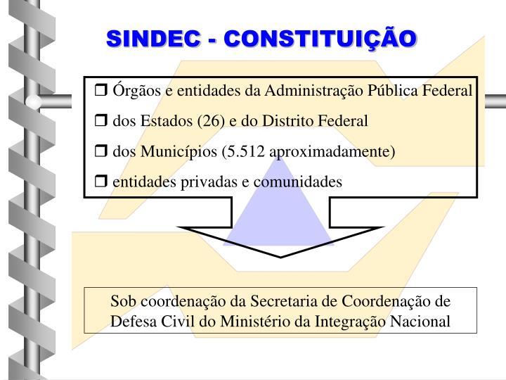 SINDEC - CONSTITUIÇÃO