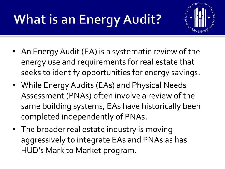 What is an energy audit