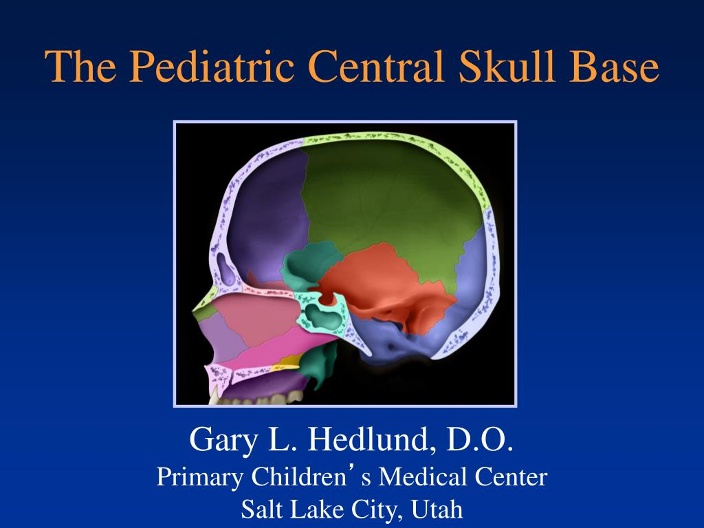 Ppt The Pediatric Central Skull Base Powerpoint Presentation Free Download Id 4605931 Describe the importance & location of the sphenobasilar synchondrosis (sbs). ppt the pediatric central skull base