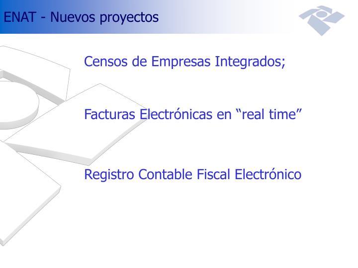 ENAT - Nuevos proyectos