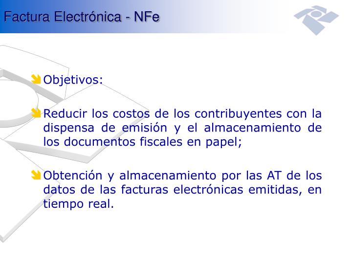 Factura Electrónica - NFe