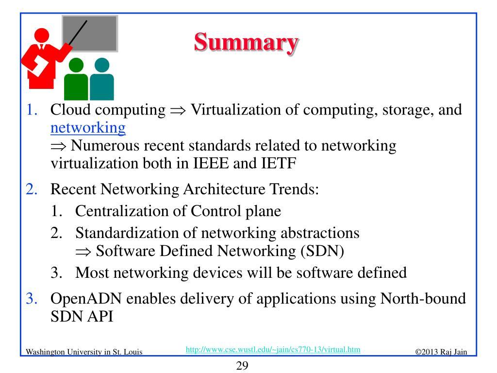 PPT - Network Virtualization: Recent Developments PowerPoint