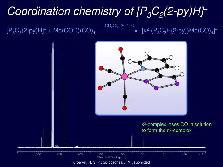 Coordination chemistry of [P