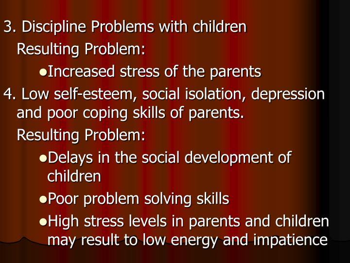 3. Discipline Problems with children