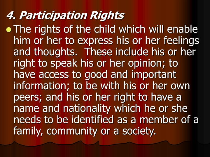 4. Participation Rights