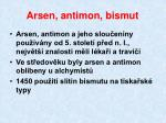 arsen antimon bismut