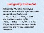 halogenidy fosfore n1