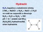hydrazin