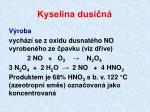 kyselina dusi n1