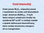 oxid bismutit