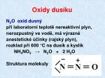 oxidy dus ku
